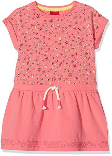 s.Oliver Baby-Mädchen 65.902.82.5468 Kleid, Rot (Pink AOP 33a3), Herstellergröße: 74