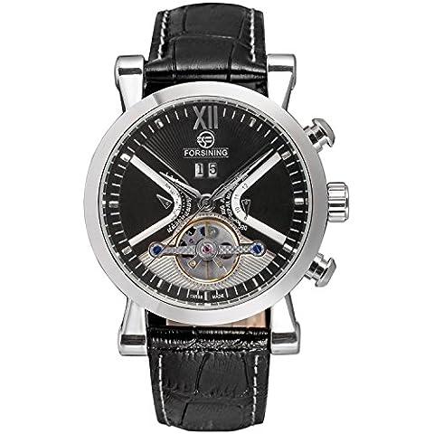 qiyan Tourbillon Automatico da uomo Display orologio (Ast Compass)