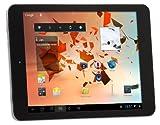 CMX 111296 Clanga 20, 1 cm (7, 9 Zoll) Tablet-PC (ARM Cortex A7,  Quad Core,  1GHz,  1GB RAM,  16GB SSD,  PowerVR SGX544 Octocore,  Android Touchscreen) schwarz/Aluminium