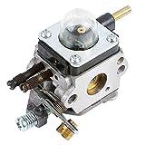 QAZAKY carburatore carb per c1u-k17C1u-k27a c1u-k27b c1u-k46C1u-k54C1u-k54a Echo decespugliatore Mantis Tiller 72227222E 7222m 72257230724079207924TC210TC2100LHD1700HC1500Coltivatore