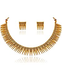 BFC- Fancy Gold Plated Necklace Set for Woman and Girls