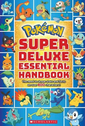 Pokemon: Super Deluxe Essential Handbook (Pokémon)