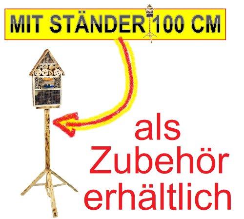XL INSEKTENHOTEL MIT TRÄNKE SD und Futterplatz - 6