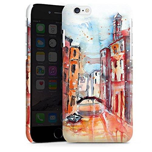 Apple iPhone 5s Housse étui coque protection Venise Venise Venise Cas Premium brillant