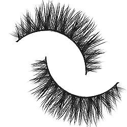 Imported 1 Pair Handmade Natural Soft Mink Hair Thick Eye Lashes False Eyelas...-13008030MG