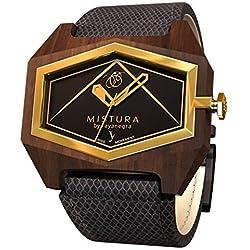 Mistura INFESSBLKGLD Pui Wood Infinite Essenza Blackgold Watch