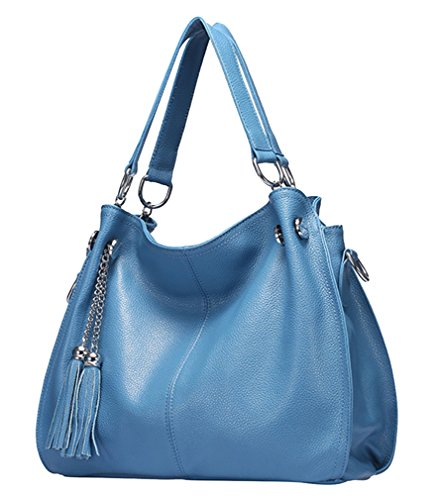 Yan Show, Borsa a tracolla donna rosso Rose Red qiangshili-020-155-meihong Blue