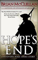 Hope's End: A Powder Mage Short Story (Powder Mage series) (English Edition)