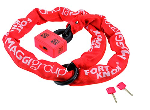 Maggi SQUARE LOOP cadena 100 cm de tubo flexible de acero aleado con c