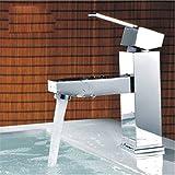 NewBorn Faucet Wasserhähne Warmes und Kaltes Wasser große Qualität Sitzbank Töpfe heißen und Kalten Becken Bad Waschbecken, Vier Hände Waschen