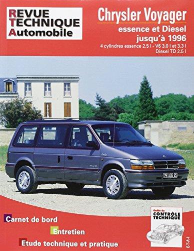Revue technique Automobile N° 347.1 Chrysler Voyager Essence et diesel Jusqu'a 96