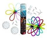 50 Knicklichter im Party Set | Glowsticks | Leuchtstäbe | rot blau gelb grün pink orange | Armband |