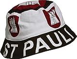 Sommerhut Fischerhut mit Aufdruck - ST. PAULI - Hut Kopfbedeckung