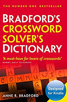 Collins Bradford's Crossword Solver's Dictionary by [Bradford, Anne R.]