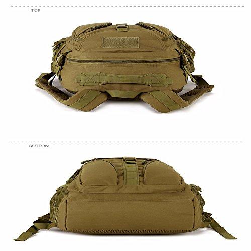 TBB-Alpinismo Bag borsa da viaggio zaino di equitazione impermeabile campeggio borsa a tracolla,verde 36-55L Green 36-55L