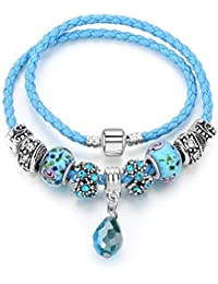 Hot And Bold Pandora Rope Charms DIY Bracelet. Daily/Party Wear Stylish Fashion Jewellery For Women/Girls.