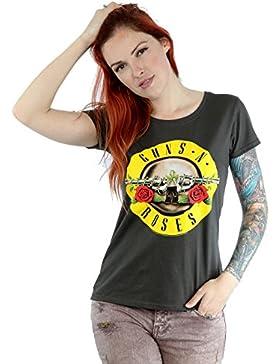 Bravado Camiseta de manga corta para mujer