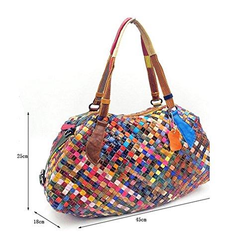 Eysee, Poschette giorno donna Multicolore Multicolore 45cm*25cm*18cm Multicolore