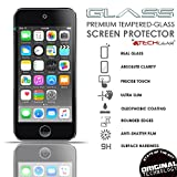TECHGEAR® Apple iPod Touch 6 GLASS Edition Genuine Tempered Glass Screen Protector Guard Cover [iPod Touch 6th Generation (16GB 32GB 64GB 128GB)]