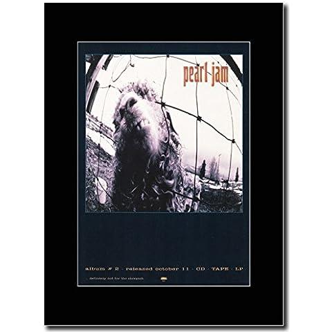 Pearl Jam-Album#2-Vs Magazine Promo su un supporto, colore: (Pearl Jam Memorabilia)
