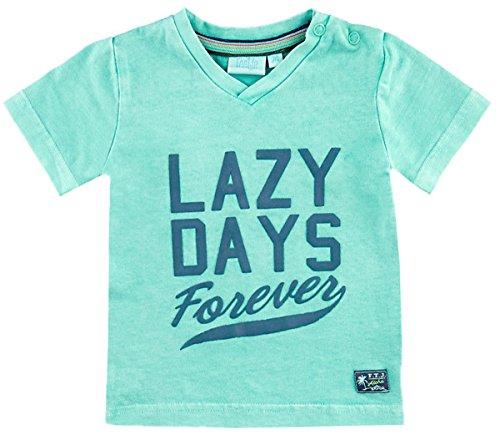 Feetje T - Shirt in gewaschenem Mint Grün mit V-Neck Aus BW Jersey von Serie Mini Island 0398 (86 cm) (Bw-serie)