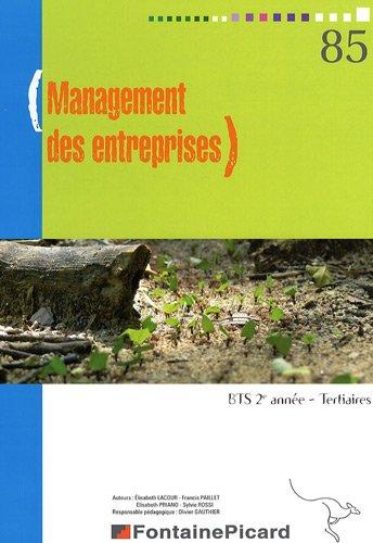Management des entreprises BTS 2e année tertiaire