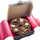 Gourmet Chocolate Mini Pizza Belgian Heavenly Honeycomb 4'' Pizza