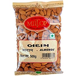 Miltop California Almonds, 500g