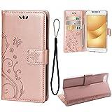 Teebo Wallet Case for Asus Zenfone 4 Max ZC520KL(5.2inch),