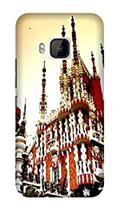 Wow 3D Printed Designer Mobile Case Back Cover for HTC One M9/HTC M9/HTC 1 M9