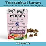 getreidefreies Trockenfutter | Hundefutter für Welpen | viel Fleisch | Barf artgerecht & unkompliziert | Trockenbarf Junioren-Menü Lamm 1kg