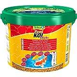 Tetra Pond Koi Sticks (schwimmfähiger Futtersticks speziell für Koi), 10 liters Beutel