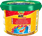 Tetra Pond Koi Sticks (schwimmfähiger Futtersticks speziell für Koi), 10 Liter Eimer Beutel
