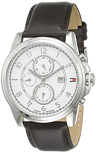 Tommy Hilfiger Analog White Dial Men's Watch - NATH1710294
