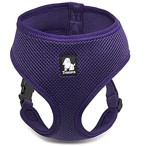 Treat Me Breathable Dog Vest, Pet Harness of Sandwich Mesh, Simple Design for Outdoor Training Walking