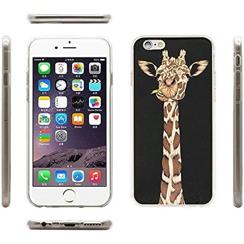 iprotect Funda protectora estilo jirafa en negro -