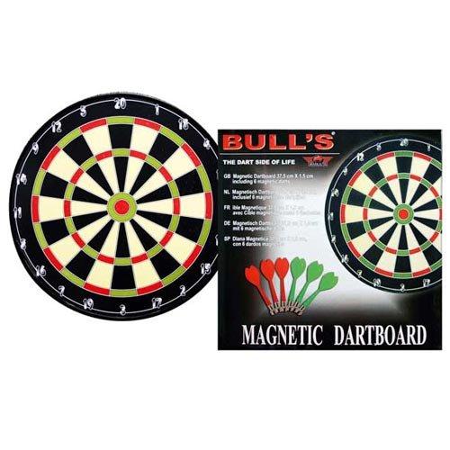 Bull 's Diana Magnetic, Negro/gr & uumln/rojo/beige, 40,5x 1.5cm