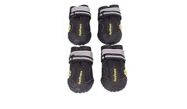 Petacc 4 Er Wasserdichte Hunde Schuhe Anti Rutsch Haustier Schuhe