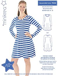 Magam Raglan Jersey Kleid - Cartamodello per Vestiti da Bambina e Donna 3830c2fd460
