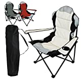 Best Chaises de camping - Linxor France ® Chaise de camping pliable + Review
