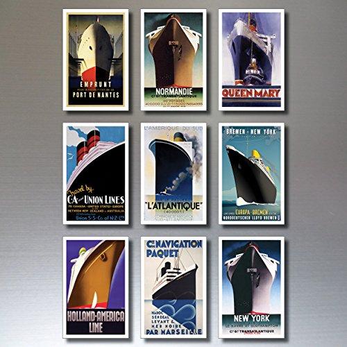 9-vintage-retro-atlantic-liner-poster-ship-fridge-magnets-shabby-chic-art-deco
