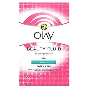 Olay Beauty Fluid Sensitive Moisturiser, 200ml