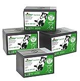 Eider Sparpack: 4X Weidezaun Batterien 9 Volt mit 60 AH - als 4er-Set kaufen und Sparen - für 9 Volt Weidezaungeräte - Qualität Zum Günstigen Preis