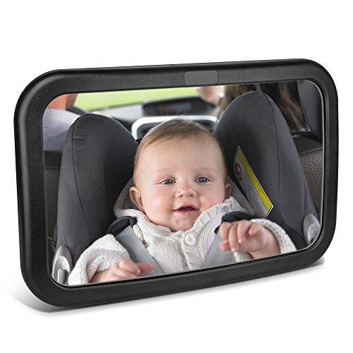 Spiegel Auto Baby,Topist Rückspiegel Baby,Autospiegel,Baby Spiegel,Rücksitzspiegel für Babys,Auto Rückspiegel,Rücksitzspiegel Baby,Auto Spiegel für Kindersitz Baby Autositz Babyschale 11.8*7.5 Zoll