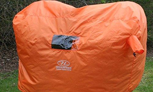 Highlander 2-3 Person Waterproof Emergency Survival Shelter Mens