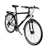 Gregster Herren Fahrrad GR-6664, Schwarz, 28, 36951