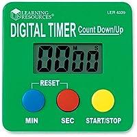 Learning Resources- Cronometro con Cuenta Regresiva y progresiva, Color, 1 (LER4339)