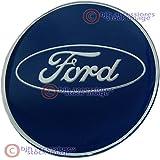 Replica Ford Felgendeckel Aufkleber Logo Aufkleber 65mm–Epoxidharz–Blau–4Stück
