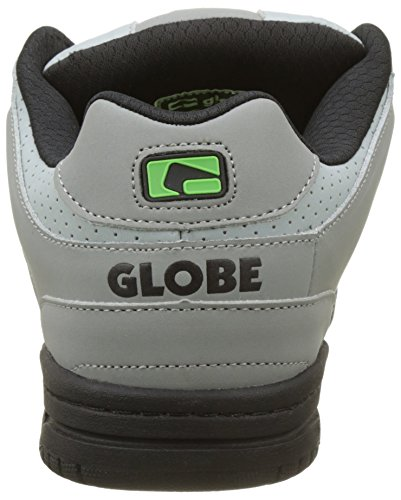 Globe Herren Scribe Skateboardschuhe Mehrfarbig (Grey/black/lime)