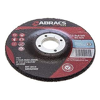 Abracs Proflex Metal Grinding Discs Dpc 115Mm 41/2